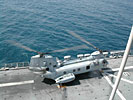 Landing Craft Air Cushion (LCAC) from USS Peleliu (LHA 5) off San Pedro, CA