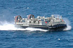 Landing Craft Air Cushion (LCAC) from the USS Peleliu (LHA 5) off San Pedro, CA